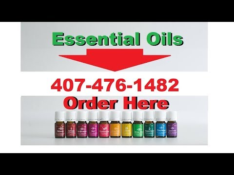 Where to buy Essential oils in Palm Springs FL -Call 407-476-1482