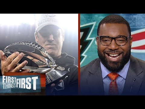Chris Canty on the Eagles' being the biggest Super Bowl Underdog since 2009 | FIRST THINGS FIRST