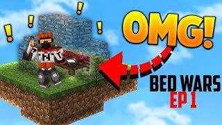 Minecraft bedwars ep 1 - vinder vi 2 gange!?