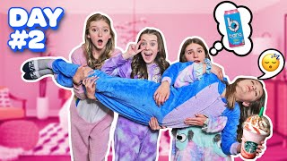 LAST TO FALL ASLEEP WINS $10,000 DOLLARS!! **Girls Overnight Challenge**💤😴   Symonne Harrison