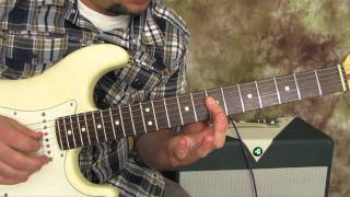 Castles Made of Sand- jimi hendrix - How to Play on Guitar - Fender Stratocaster