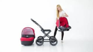 Коляска-люлька для новорожденных Mimmi kids Lullaby