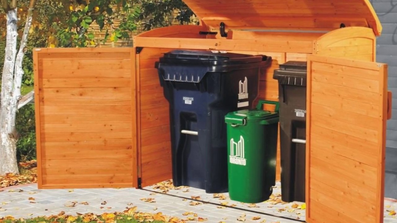 Large Outdoor Garden Storage Box Designs Youtube