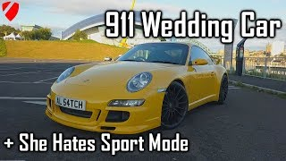 This is why the Porsche 911 997 is PERFECT for A wedding