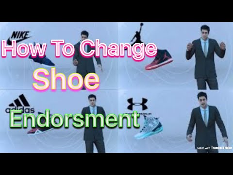 NBA 2K18- How To Change Shoe Deal