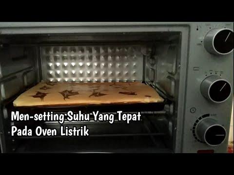Cara Mudah Memanggang Kue Kering Pakai Oven Listrik.