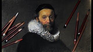 Как избежать ошибок в рисовании портрета? Урок с Сергеем Гусевым.