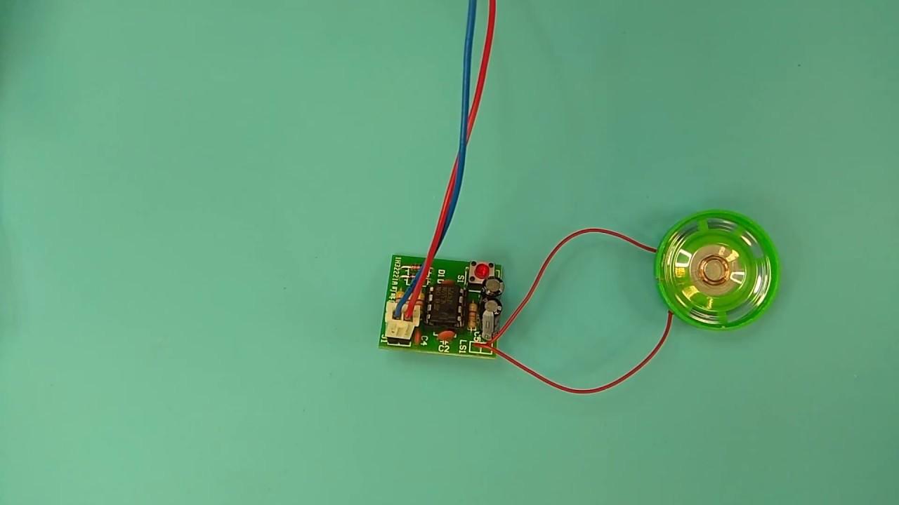 Icstation Diy Kit Electronic Doorbell Suite Ne555 Sound Lm555 Electronics Circuit Detectors Part 3 Processing Board Module