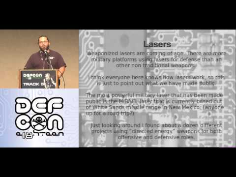 DEF CON 18 - Mage2 - Electronic Weaponry or How to Rule the World While Shopping at Radio Shack