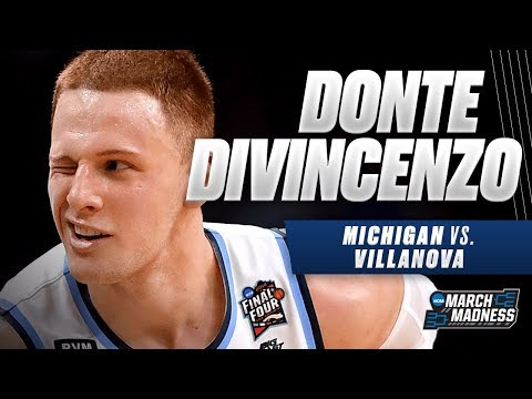 Villanova's Donte DiVincenzo wins the 2018 Final Four Most Outstanding Player