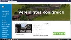 OpenBVE der Kostenlose Zug Simulator German Deutsch FULL HD