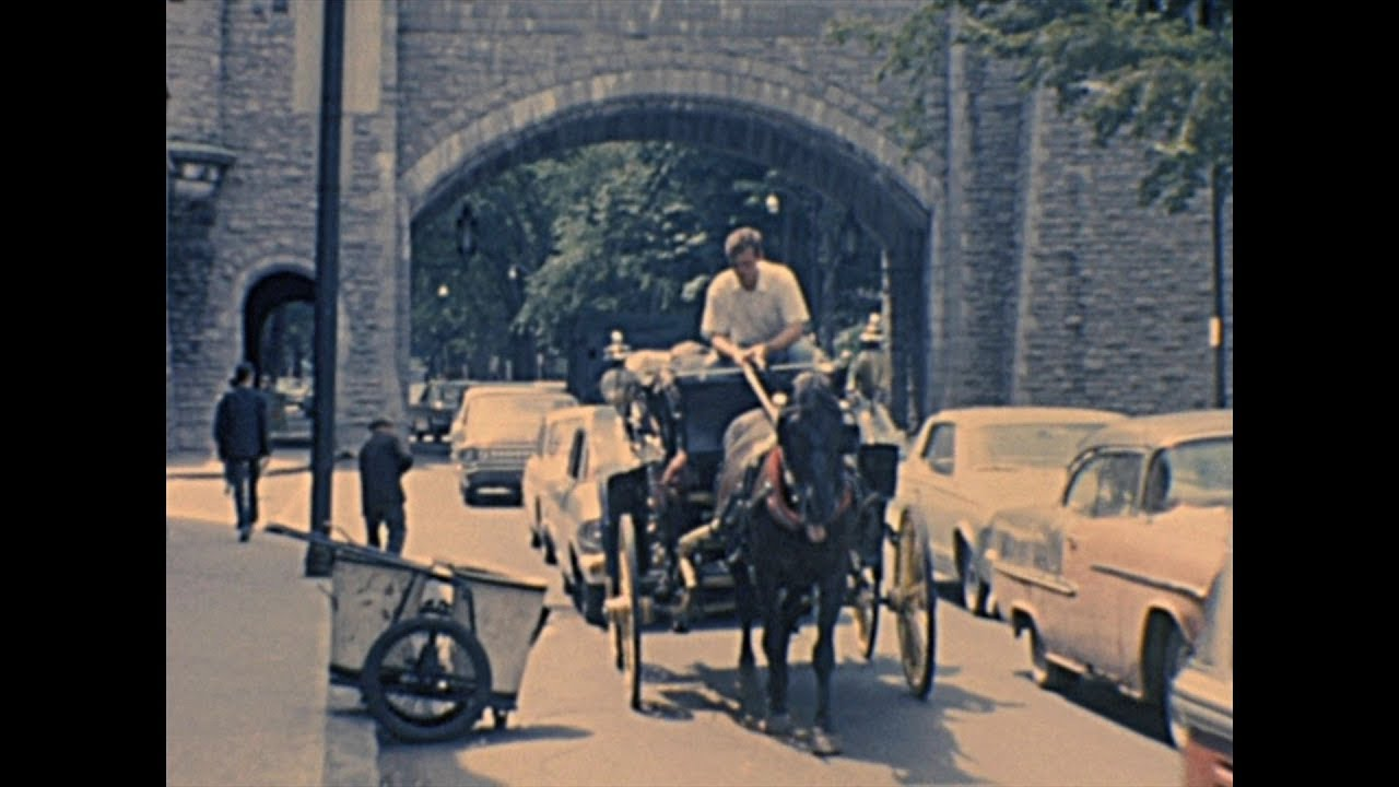 Life in Quebec City 1965 – Archive Footage