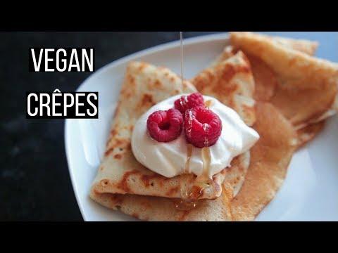 Vegan Crêpes Recipe!