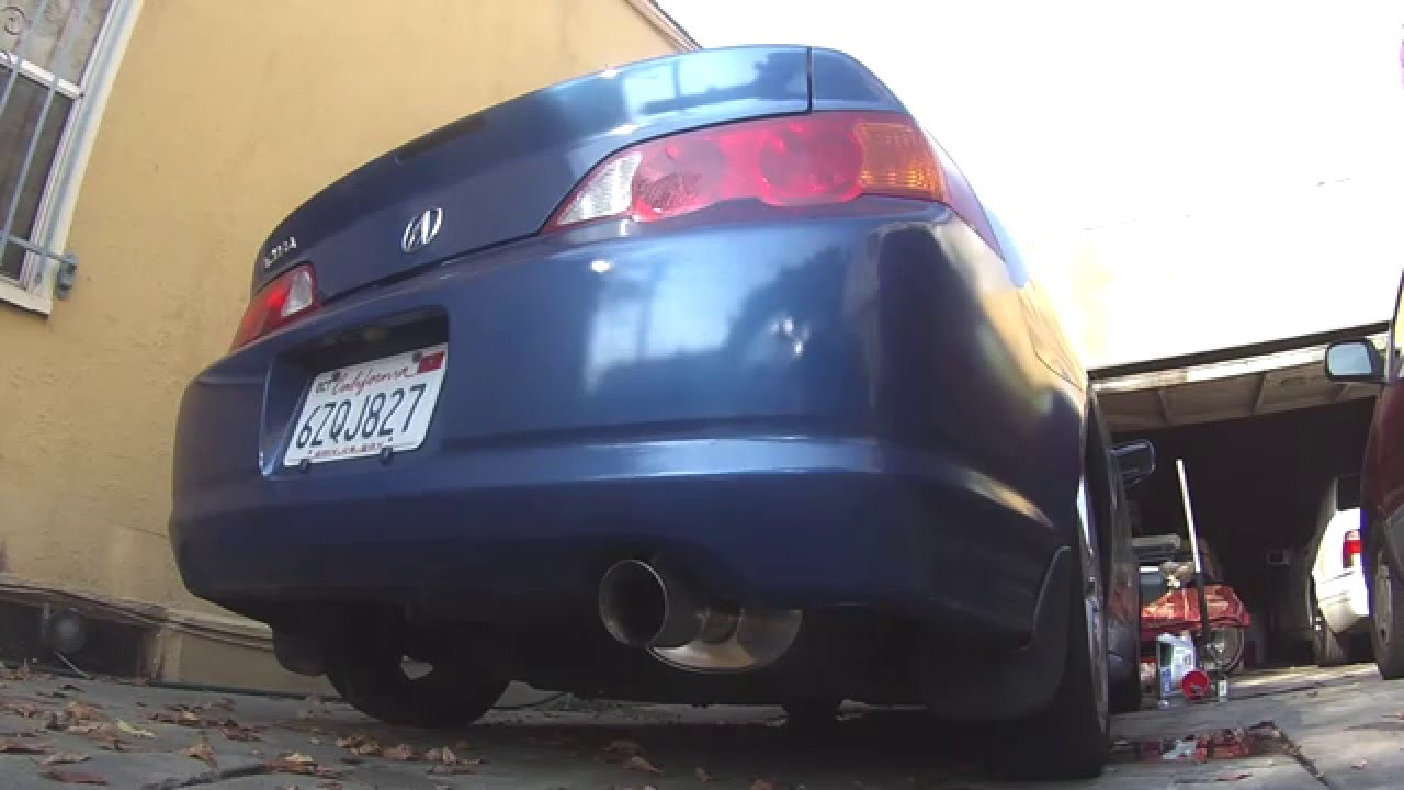 yonaka 2002 2006 acura rsx type s catback exhaust