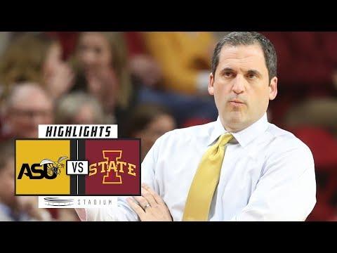 Alabama State vs. Iowa State Basketball Highlights (2018-19) | Stadium