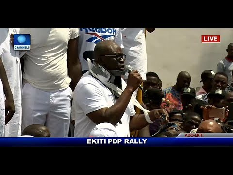 Ekiti Election: AIG, MOPOL Ordered To Kill Me - Fayose