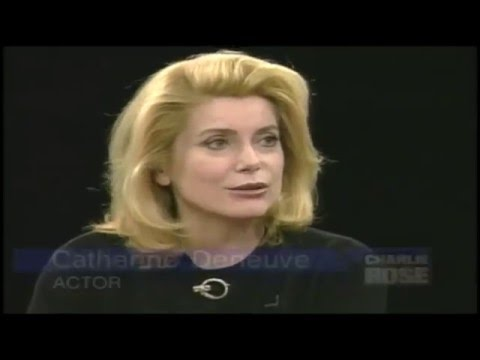 Catherine Deneuve- Charlie Rose 1996, Part 1