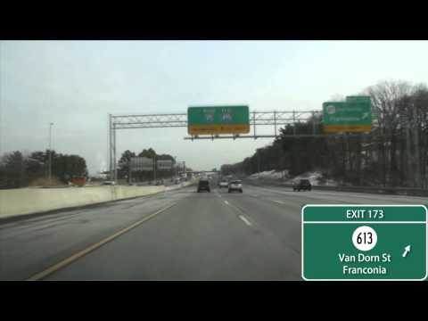 I-95/495 Capital Beltway Washington, D.C. (Exits 166 to 4)