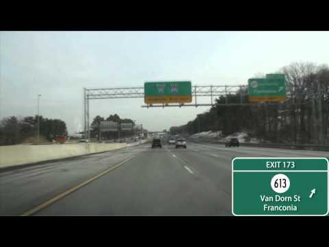 I-95/495 Capital Beltway Washington, D.C. (Exits 166 To 4)