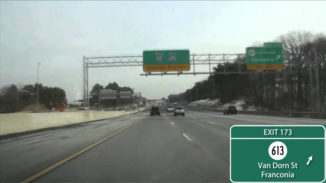 I-95/495 Capital Beltway Washington, D C  (Exits 166 to 4)