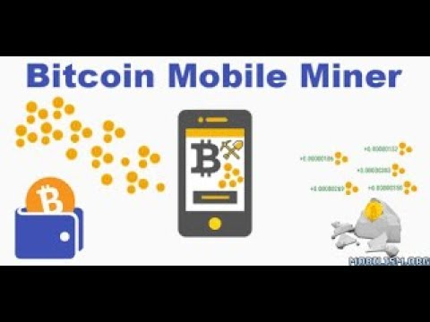 bitcoin mining on android phone