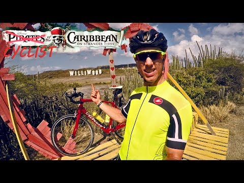 A full lap around CURAÇAO - #cycling curacao
