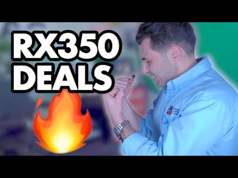 2020 Lexus RX 350 Deals Have Me ALL FIRED UP!