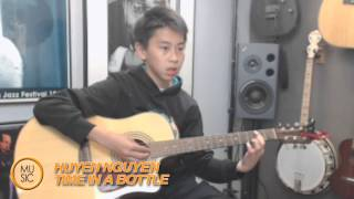 Time In A Bottle guitar cover by Huyen Nguyen