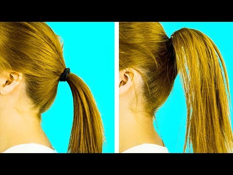 27 CRAZY USEFUL HAIRSTYLING HACKS