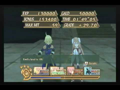 Tales of symphonia dawn of the new world gladsheim for Floor 5 boss map