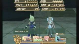 Tales of Symphonia Dawn of the New World - Gladsheim - Floor 10 (Level 100+ Emil)