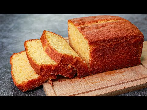 Bakery Style Pound Cake | Basic Vanilla Pound Cake Recipe | Yummy