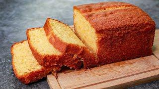 Bakery Style Pound Cake  Basic Vanilla Pound Cake Recipe  Yummy