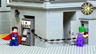 Lego ATM Robbery Fail.