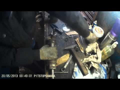 Ремонт Оки Часть 2. Ремонт рулевой рейки установка ремкомплекта