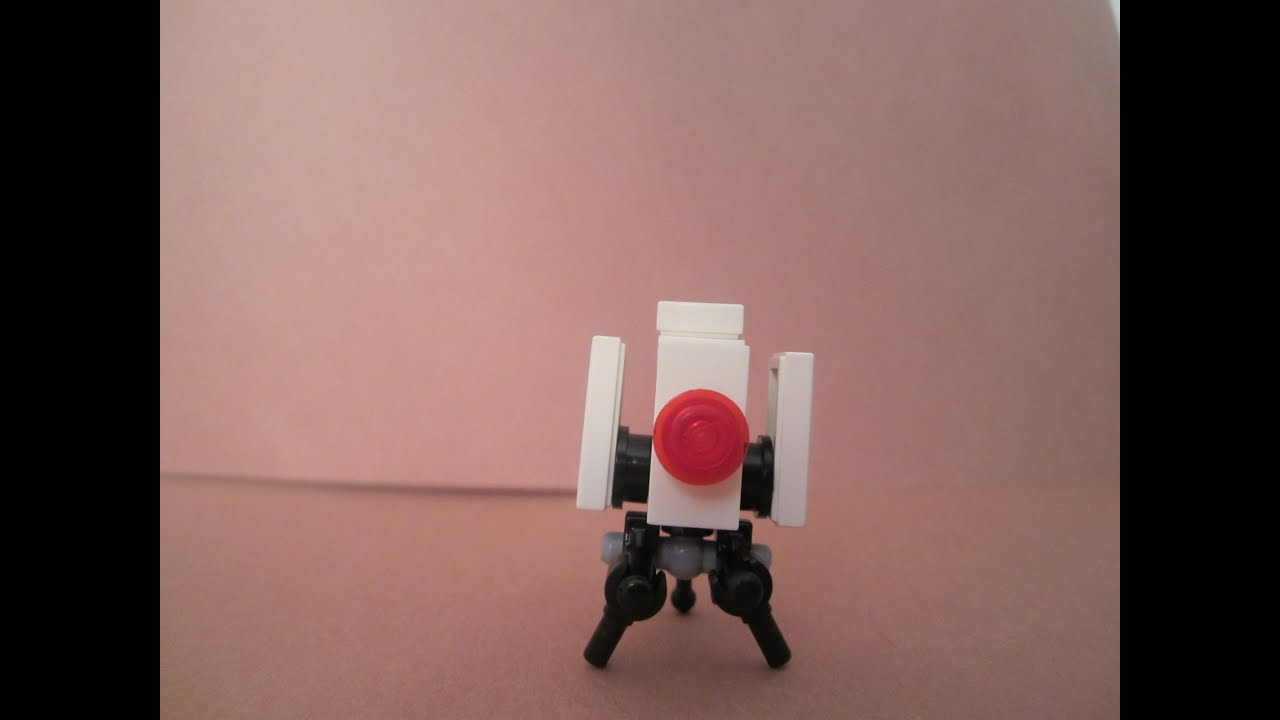how to build a lego portal gun