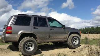 Jeep Grand Cherokee ZJ off road