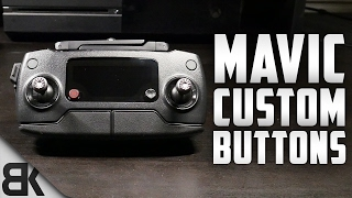 DJI Mavic Pro Custom Buttons Explained (In Depth Walkthrough)