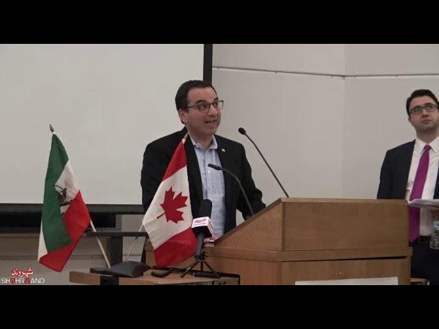 سخنرانی مایکل لوت در همایش جامعه مدنی ایران و راهی به سوی دمکراسی
