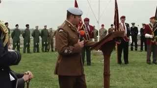 Airborne Forces Memorial - RAF Barkston Heath 31st May 2014