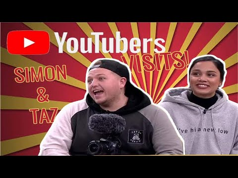 Hosted Simon Wilson and ClickForTaz, two huge YouTubers from UK and went national TV