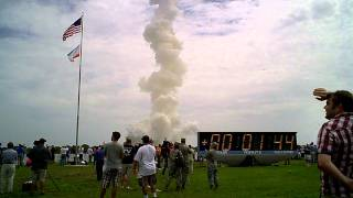 HD Audio: Final Space Shuttle Launch STS135 from Press Site