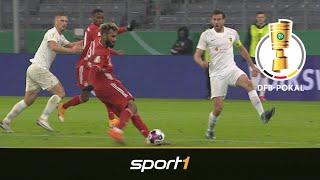 Choupo-Moting mit Gala-Debüt! 1. FC Düren - FC Bayern München 0:3 | Highlights | DFB-Pokal  SPORT1