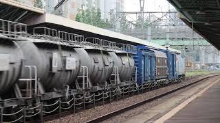 [단편 영상] 경부선 영등포역 유개+시멘트화물열차 #3…