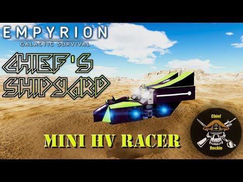 Chief's Shipyard: Mini HV Racer