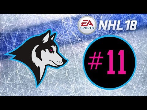 NHL 18 ~ Minneapolis Huskies Franchise Mode ~ #11 (Taking Risks)