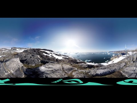 Greenland, where climate change meets the eye: A 360 VR experience