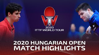 Дмитрий Овчаров vs Jakub Dyjas | Hungarian Open 2020 (R16)