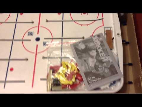 Unpacking Table Hockey - Настольный хоккей из Новосибирска