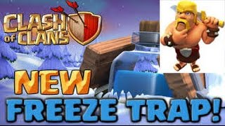 Clash Of Clans | New freeze trap #2 Clashmas gift | December update 2016